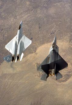 .YF-23 & YF-22