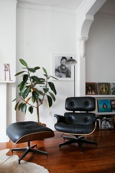 Sam and Stefanie Wessner's apartment in Williamsburg in NYC / photo by Emily Johnston