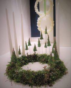 Vianoce, vianočná výzdoba, vianočné dekorácie, advent / Christmas, christmas home decoration - Inšpirácie Woodland Christmas, 1st Christmas, Christmas Holidays, Christmas Crafts, Christmas Ideas, Rustic Candles, Xmas Wreaths, Halloween Wreaths, Deco Floral
