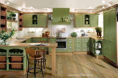Zöld konyha. Hogy tetszik?