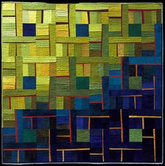 Major quilt love - this quilt artist is genius!