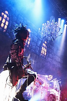 """Aoi [Live report] the GazettE, """"was the best, ze going to do next year,"""" Halloween Night that has been colored by Gothic 