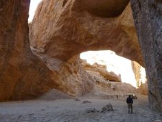 Newly discovered natural arch in Afghanistan one of world's largest   #GeologyPage