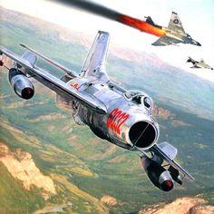 MiG-19 Farmer, Vietnam War (History of Aviation book cover)