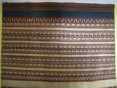 Kain Tapis from Lampung, Sumatra, Indonesia. Before 1950.