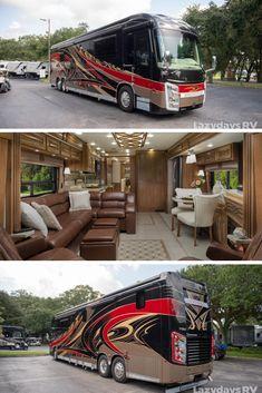 Bus Motorhome, Motorhome Conversions, Rv Bus, Class A Motorhomes, Motorhomes For Sale, Motor Casa, Luxury Rv Living, Luxury Rv Resorts, Cool Rvs