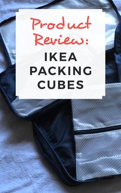 Product Review: IKEA packing cubes / Sophie's Suitcase