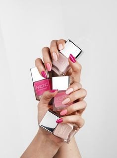 The Perfect Pink range available at nailsinc.com