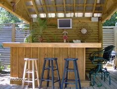 Outdoor Tiki Bar Design, Pictures, Remodel, Decor and Ideas - page 2