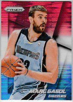2014-15 Panini Prizm Prizms Red White and Blue Pulsar #78 Marc Gasol