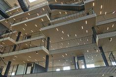 Studio akustik og design - Moelven - Pakhuset på Langelinie. Foto: Erik Brahl