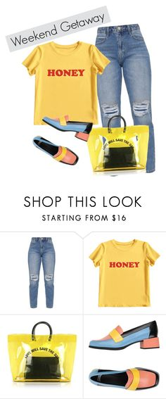 """weekend getaway"" by krnas on Polyvore featuring MIEL, Dsquared2 and Camper"