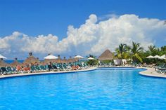 Occidental Grand Cozumel..  yes.. it really is that beautiful!