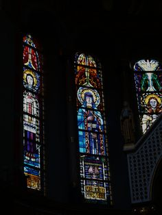 Stained Glass in Amsterdam by Joep Nicolas (1897-1972).