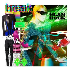 """""""#Neon Glam"""" by nikkisg on Polyvore"""