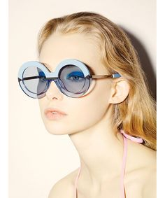 Pool party  Karen Walker s bold new eyewear collection f94d3e6ccc9c