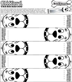 clifford the big red dog craft ideas mr rogers coloring pages 8014