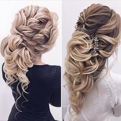 3,925 отметок «Нравится», 35 комментариев — Эль Стиль ⭐️ Elstile (@elstile) в Instagram: «1 или 2?  пучок или греческая? ⠀ ⭐️ Причёски в Эль Стиль @elstile ⭐️ Wedding hair in @elstile ⠀…»