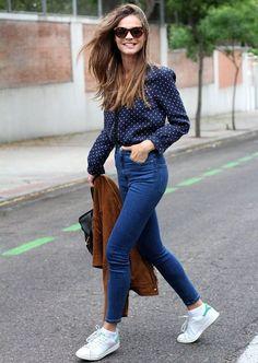 street-style-jaqueta-suede-marrom-look-azul