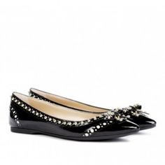 Marigold studded flat in black by sole society  from ILoveCuteShoes.com