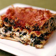 Drie kazen lasagne Recept | Weight Watchers Nederland