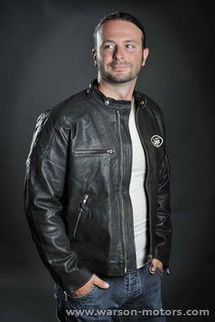 Motorcycle Black Leather Jacket #jacket #leather