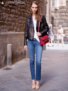 Shop an amazing off-duty look straight from the streets of Florence, Italy!