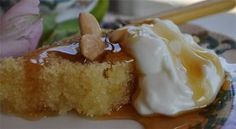 Χαλβάς σιροπιαστός με άρωμα πορτοκαλιού στο φούρνο - Filenades.gr