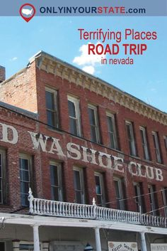 These haunted places in Nevada make the perfect road trip! Pahrump Nevada, Nevada State, Perfect Road Trip, Haunted Places, Road Trip Usa, Throughout The World, Us Travel, Colorado, California