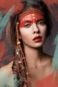american indian makeup - Buscar con Google