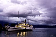 Paddle Boat, Switzerland, Boats, Ships, Clouds, Outdoor, Cooking, Swiss Guard, Outdoors
