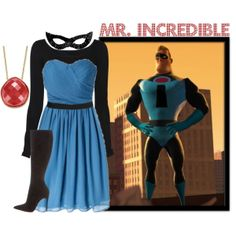 """""""Mr. Incredible"""" by merahzinnia on Polyvore"""