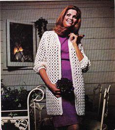 Quick Crochet Coat - Pattern