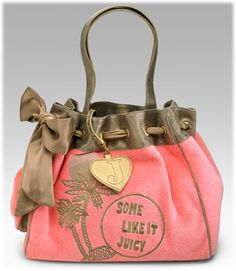 This is one of my favs! It's pink, Juicy, and kind of like a beachy theme with the palm trees! Love it!