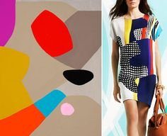 Cutouts, collage and bold geometrics, new trends for print and fashion for 2014 and 2015 | Pattern Recognition