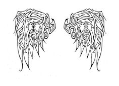 angel+wings+designs | Angel Wing Tattoo Design by ~reignofthechibi on deviantART