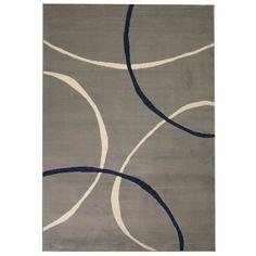 Hermantown Beige/Black Rug Brayden Studio Rug Size: Rectangle 180 x Dark Grey Rug, Black Rug, Brown Rug, White Rug, Yellow Rug, Neutral Color Scheme, Gold Rug, Red Rugs, Gray