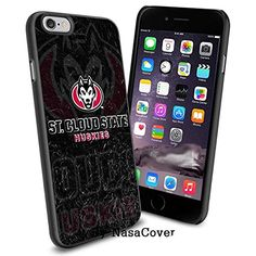NCAA University sport St. Cloud State Huskies , Cool iPhone 6 Smartphone Case Cover Collector iPhone TPU Rubber Case Black [By NasaCover] NasaCover http://www.amazon.com/dp/B0140NBLSM/ref=cm_sw_r_pi_dp_X1B2vb0XX64ZM