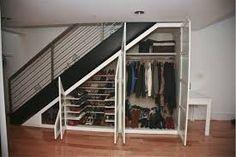 Resultado de imagen para closet en escaleras