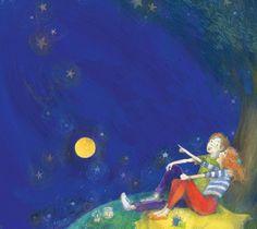 Mitko, who smiled at the stars by ZaRa Buyukliiska, via Behance