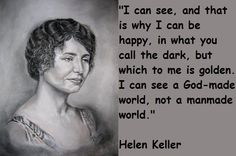 Helen Keller- Her story. Watch here.