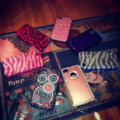 My adorable iPhone cases