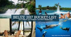 Your ultimate 2017 Belize bucket list guide featuring reef and rainforest Belizean activities that everyone can enjoy. You better Belize it!