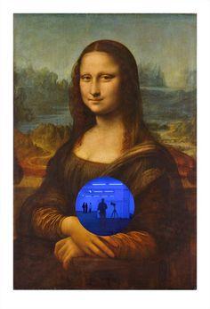 Jeff Koons, <em>Gazing Ball (da Vinci Mona Lisa)</em>, 2016. Courtesy of Jeff Koons.