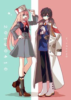 02 and 016 Awesome Anime, Anime Love, Chibi, Manga Cute, Waifu Material, Chica Anime Manga, Zero Two, Undertale Fanart, Fan Art