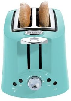 Hamilton Beach, Eclectrics Toaster in Sea Breeze: Have one. Love it.