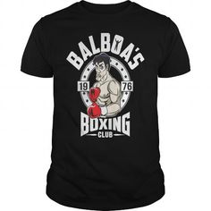 Awesome Boxing gift for yourself Balboa's Boxing Club T-Shirt t-shirt tee mug necklace legging hat cap Club America, Boxing Shirts, Boxing Club, Team Gifts, Cool Tees, Tee Shirts, Hoodies, Boxer, Mens Tops