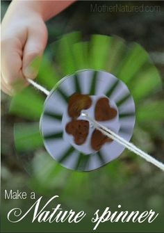 Nature craft spinner: slow paced to start with a fun and fast ending!