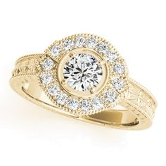 STYLE# 82664 - Antique - Engagement Rings
