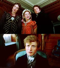Pride and Prejudice (1995) This part always made me so sad for Mr. Bingley!